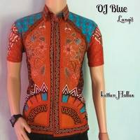 Batik OJ Blue Langit