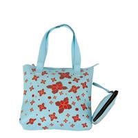 Husk Muty Flower Tote Bag Tas Wanita - Biru
