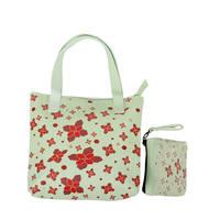 Husk Muty Flower Tote Bag Tas Wanita - Hijau Mint