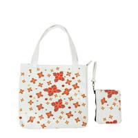Husk Muty Flower Tote Bag Tas Wanita - Putih